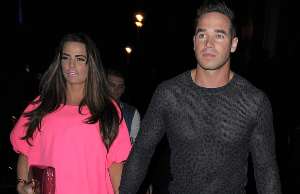 Katie Price, Kieran Hayler, Club Aquarium, London, sheer leopard print jumper