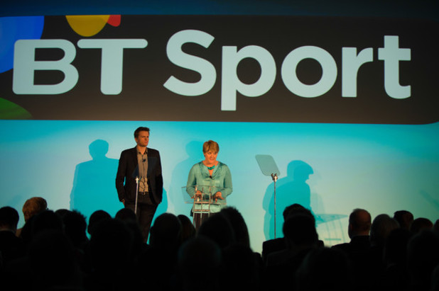 Jake Humphrey and Clare Balding for BT Sport
