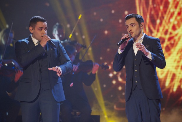 'Britain's Got Talent' Semi-final show 1: Richard and Adam