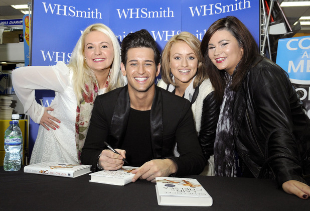 Ollie Locke signs copies of his book 'Laid in Chelsea' at WHSmith in Bexleyheath ~~ April 6, 2013