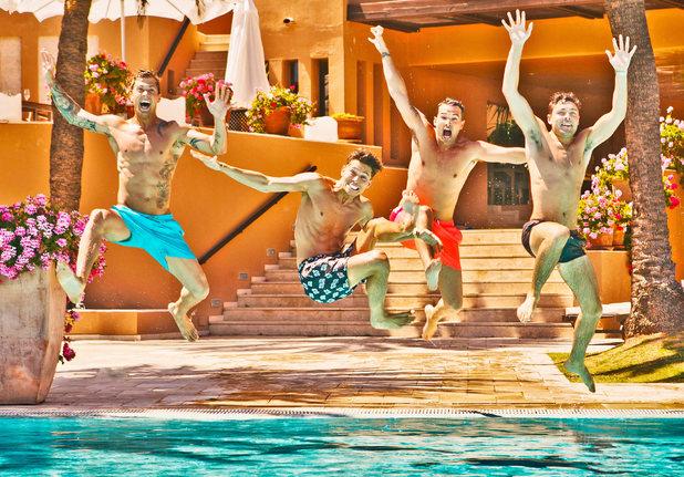 Towie boys promo shot