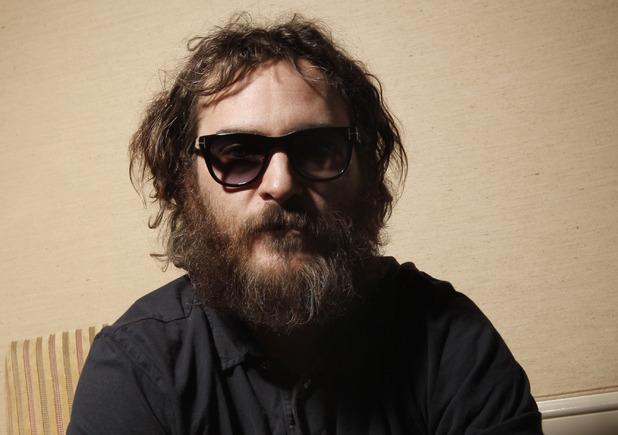 joaquin phoenix, beard, facial hair,