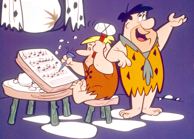 'The Flintstones' - Barney Rubble, Fred Flintstone