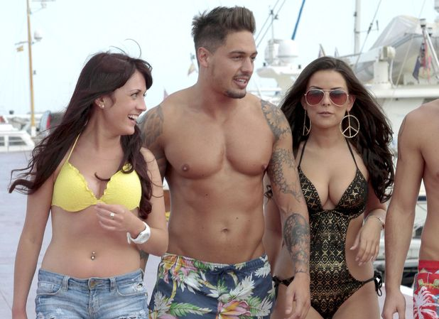 Mario Falcone, The Only Way Is Essex, Marbella, green bikini, beach