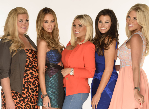 Gemma Collins, Lauren Pope, Billie Faiers, Jessica Wright And Frankie Essex