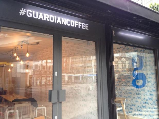 The Guardian coffee shop