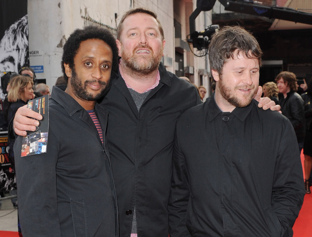 'The Stone Roses: Made of Stone' world premiere: Elbow's Pete Turner, Guy Garvey and Mark Potter