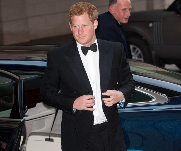 Prince Harry, Walking With The Wounded Crystal Ball at The Grosvenor House Hotel