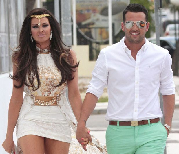 Jessica Wright and Ricky Rayment in Marbella
