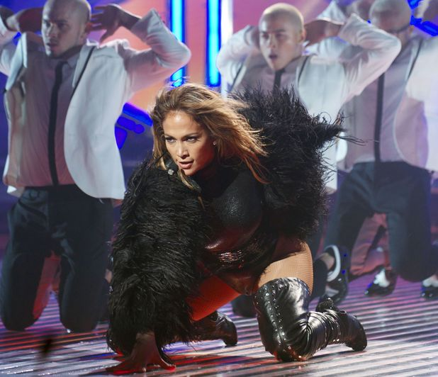 Jennifer Lopez performs live on the second 'Britain's Got Talent' Semi