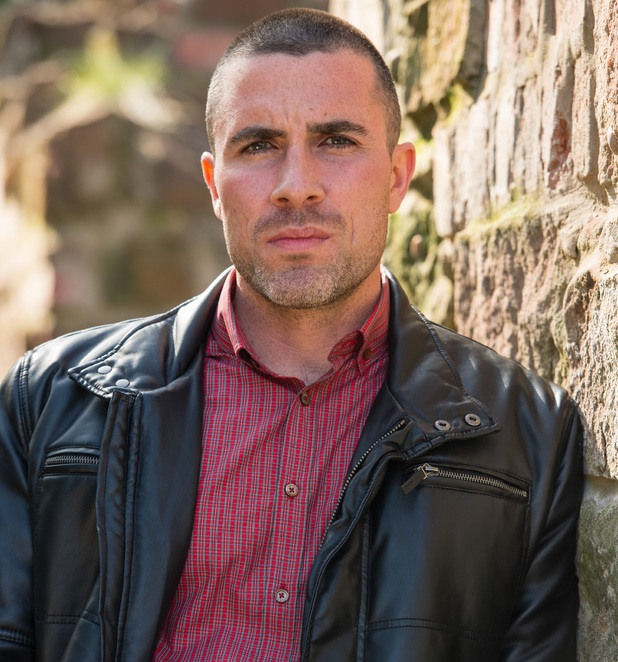 Greg Wood as Trevor Royle on Hollyoaks