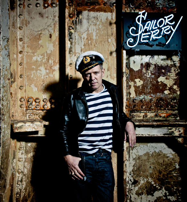 The Clash's Paul Simonon launches Sailor Jerry clothing range.