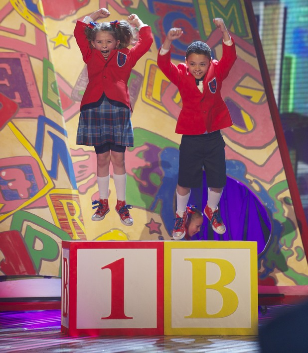 Pre-Skool perform on the 3rd 'Britain's Got Talent' Semi Final Show