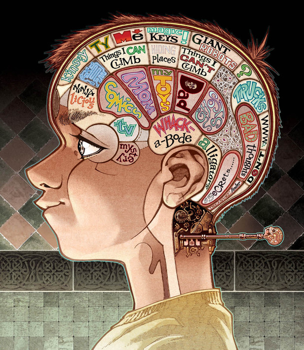 'Locke & key' artwork