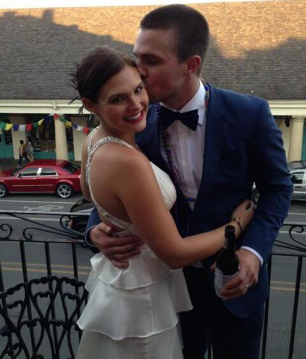 Stephen Amell and Cassandra Jean celebrate their second wedding