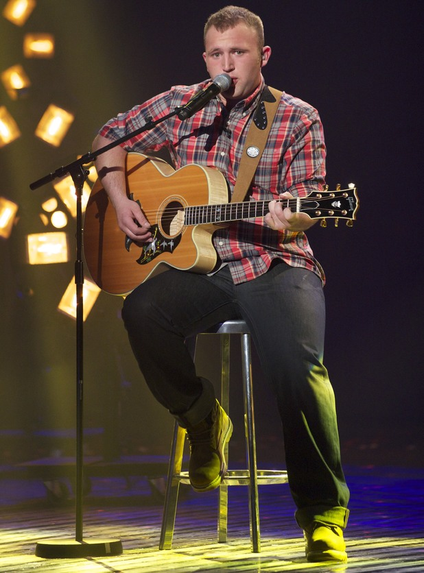 Robbie Kennedy performs on the 3rd 'Britain's Got Talent' Semi Final Show