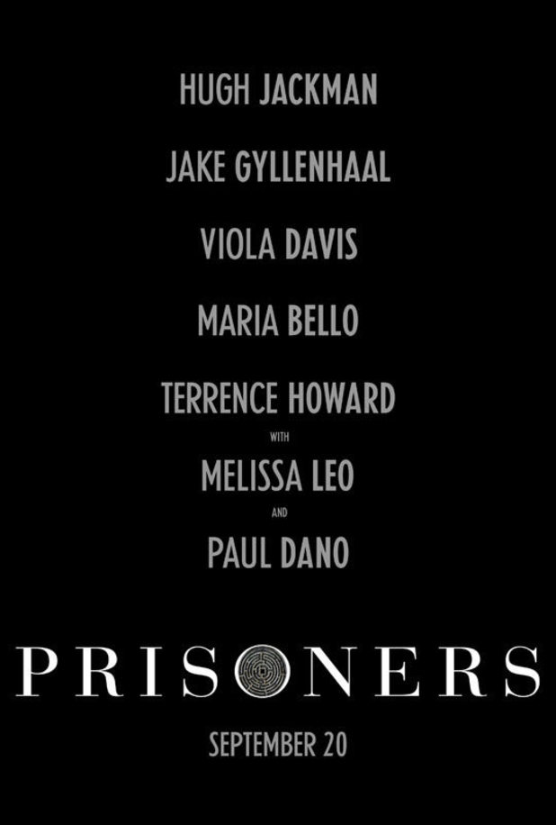 'Prisoners' poster