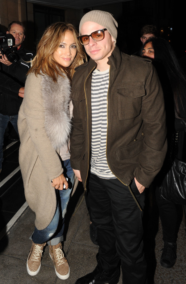 Jennifer Lopez, Casper Smart,