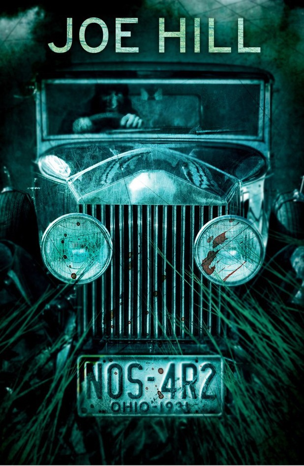 Joe Hill's 'NOS4R2' cover artwork