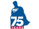 Superman 75th anniversary logo
