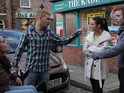 Tina breaks Gary and Izzy's hearts in Coronation Street tonight.