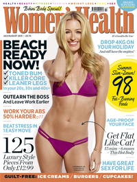 Cat Deeley photo shoot for Women's Health magazine