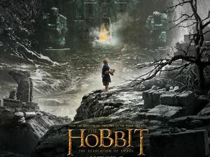 Hobbit: The Desolation of Smaug poster