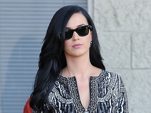Katy Perry, film set, Kroll Show, LA