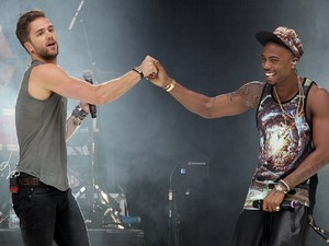 B.o.B and Lawson at the Capital FM Summertime Ball
