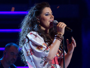 Alys Williams performs on the first live show of The Voice