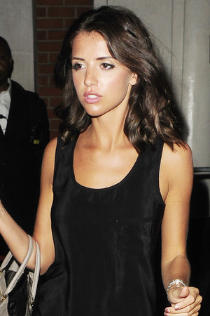 Lucy Mecklenburgh leaving Funky Buddha Nightclub.