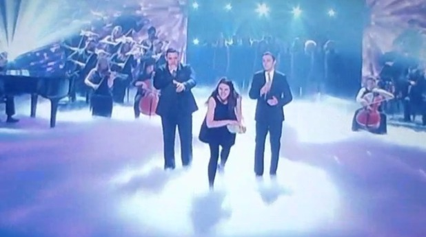 Woman throws eggs at Simon Cowell and other judges on BGT