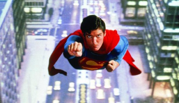 Christopher Reeve  in 'Superman' (1978)