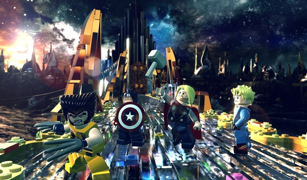 Asgard in 'LEGO Marvel Super Heroes'