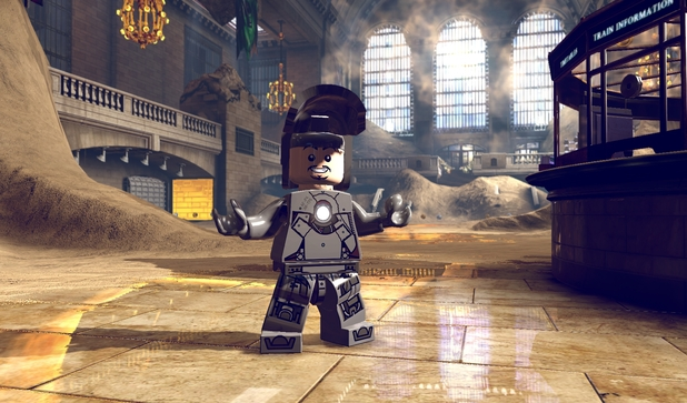 Iron Man in 'LEGO Marvel Super Heroes'