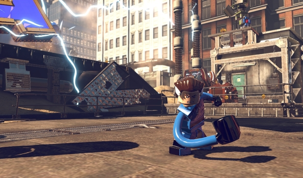 Mr Fantastic in 'LEGO Marvel Super Heroes'