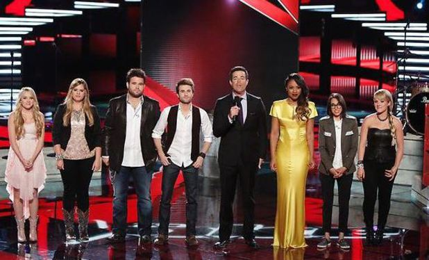 'The Voice' - Top 6 performance show