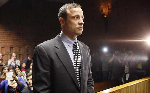 Oscar Pistorius appears in the magistrates court in Pretoria