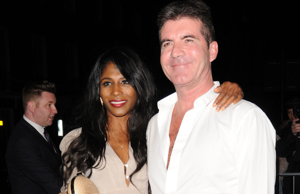 Simon Cowell and Sinitta leave the Britain's Got talent wrap party.
