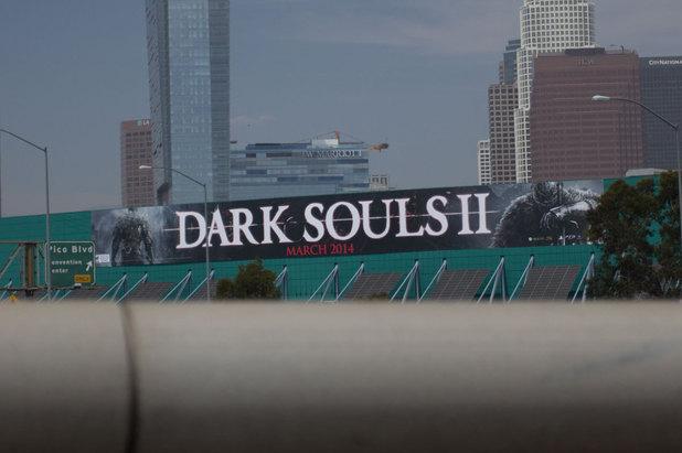 Dark Souls 2 E3 banner