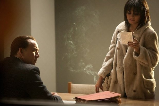 Vanessa Hudgens and Nicolas Cage in 'The Frozen Ground'