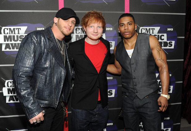 Brantley Gilbert Ed Sheeran and Nelly