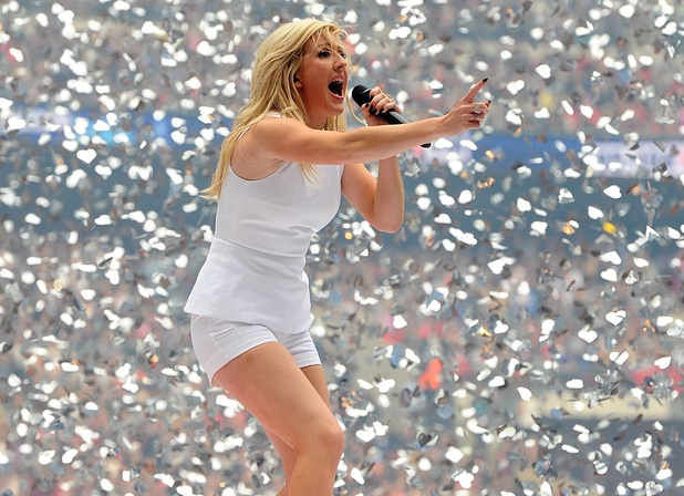 Ellie Goulding at the Capital FM Summertime Ball.