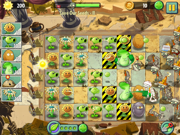 'Plants vs. Zombies 2' screenshot