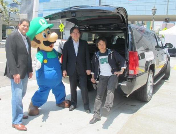 Nintendo executives arrive in LA for E3