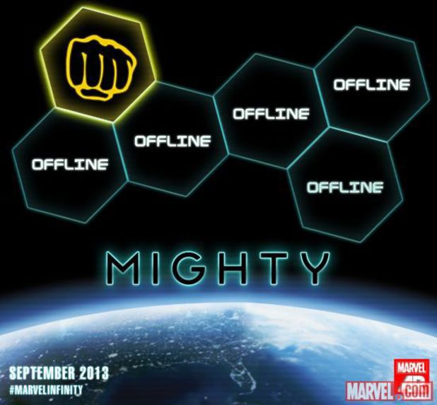 'Mighty' team Infinity teaser from Marvel