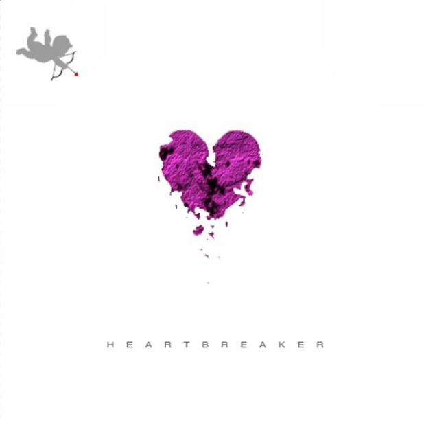 Justin Bieber 'Heartbreaker' artwork