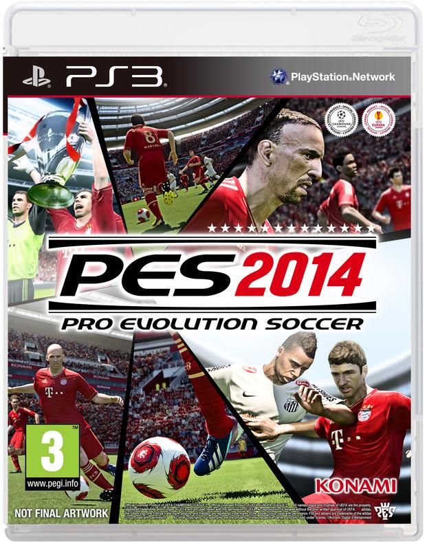 'PES 2014' pack shot