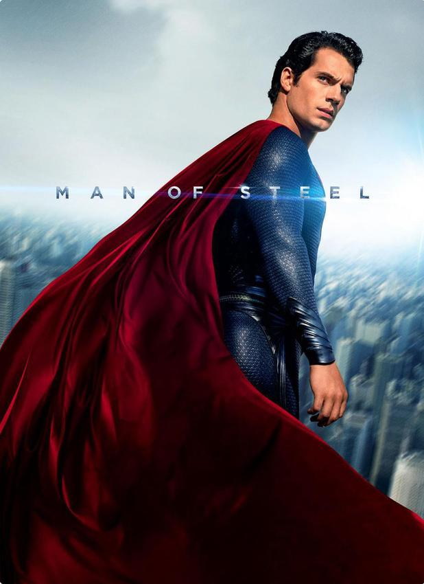 Man of Steel poster Henry Cavill