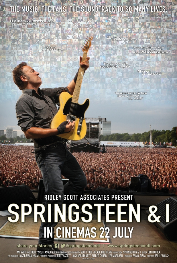 'Sprinsteen & I' movie poster
